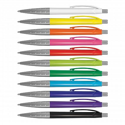 COG-PROMO-PLASTIC-PENS-SPARK-PEN-COLOURED-BARREL